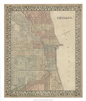 Plan of Chicago Fine-Art Print