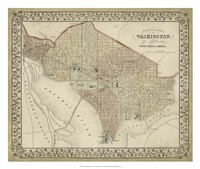 Plan of Washington, D.C. Fine-Art Print