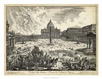 Veduta della Basilica di S.Pietro Fine-Art Print