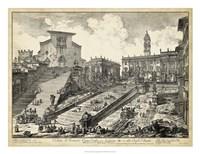 Veduta del Romano Campidoglio Fine-Art Print