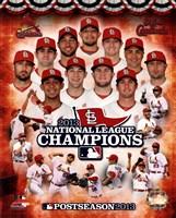 St. Louis Cardinals 2013 National League Champions Composite Fine-Art Print