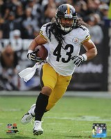 Troy Polamalu with the ball 2013 Fine-Art Print