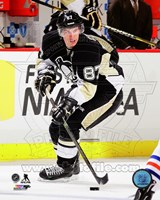 Sidney Crosby Hockey Passing Action Fine-Art Print