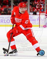 Pavel Datsyuk 2013-14 Action Fine-Art Print