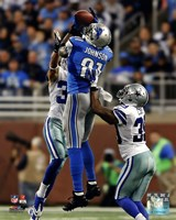 Calvin Johnson 2013 catching the ball Fine-Art Print