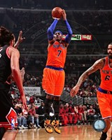 Carmelo Anthony 2013-14 shooting Fine-Art Print