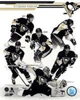 Pittsburgh Penguins 2013-14 Team Composite Fine-Art Print
