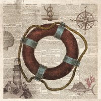 Nautical Collection IV Fine-Art Print