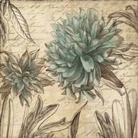 Blue Botanical I Fine-Art Print