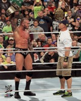 Randy Orton & John Cena 2013 Survivor Series Action Fine-Art Print