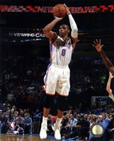 Russell Westbrook 2013-14 Action Fine-Art Print