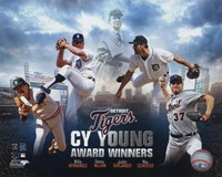 Detroit Tigers Cy Young Winners Portrait Plus Fine-Art Print