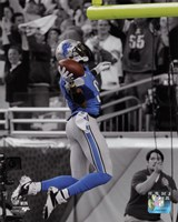 Calvin Johnson 2013 Spotlight Fine-Art Print