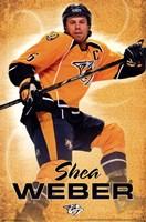 Nashville Predators - S Weber 13 Wall Poster