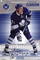 Toronto Maple Leafs - D Clarkson 13 Wall Poster