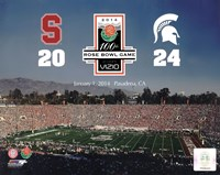 2014 Rose Bowl Champions Michigan Spartans Vs. Stanford Cardinals Fine-Art Print