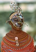 Portrait of a teenage girl smiling, Kenya Fine-Art Print