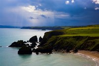 Ballydowane Beach, Copper Coast, County Waterford, Ireland Fine-Art Print