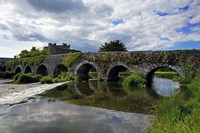 The 13 Arch Bridge over the River Funshion, Glanworth, County Cork, Ireland Fine-Art Print