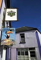 Pub Signs, Eyeries Village, Beara Peninsula, County Cork, Ireland Fine-Art Print