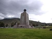 Middle of the World Monument, Mitad Del Mundo, Quito, Ecuador Fine-Art Print