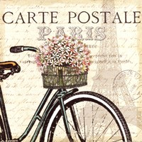 Paris Ride I Fine-Art Print