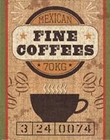 Coffee Sack III Fine-Art Print