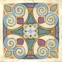 Birds Garden Tile I Fine-Art Print