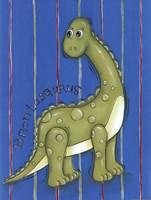 Green Dino Fine-Art Print