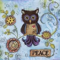 Peace Owl Fine-Art Print