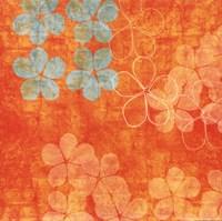 Orange Floral Fine-Art Print