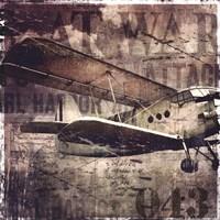 Vintage War Aircraft Fine-Art Print