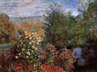Garten von Montgeron Fine-Art Print
