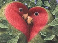 Feathered Heart Fine-Art Print