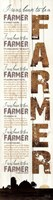 I Was Born to be a Farmer - White Fine-Art Print