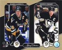 Mario Lemieux & Sidney Crosby Legacy Collection Fine-Art Print