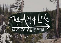 The Aim of Life Fine-Art Print