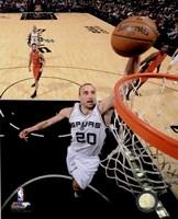 Manu Ginobili Spurs Basketball Fine-Art Print