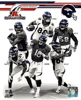 Denver Broncos 2013 AFC Champions Team Composite Fine-Art Print