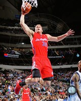 Blake Griffin 2013-14 slam dunk Fine-Art Print
