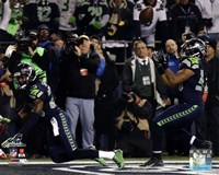 Malcolm Smith & Richard Sherman Game Winning Interception 2013 NFC Championship Game Fine-Art Print