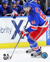 Rick Nash Hockey Stickhandling Fine-Art Print