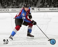 Nathan MacKinnon 2013-14 Spotlight Action Fine-Art Print