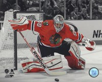 Corey Crawford 2013-14 Spotlight Action Fine-Art Print