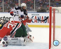 Mats Zuccarello Goal 2014 NHL Stadium Series Fine-Art Print