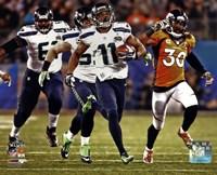Percy Harvin Running a Touchdown Super Bowl XLVIII Fine-Art Print