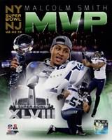 Malcolm Smith Super Bowl XLVIII MVP Portrait Plus Fine-Art Print