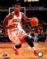 Jimmy Butler with the ball 2013-14 Fine-Art Print