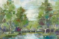 Forest at Dawn Crop Fine-Art Print