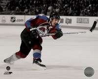 Joe Sakic 2007-08 Spotlight Action Fine-Art Print